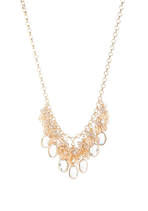 Crown & Ivy™ 18 Inch Bead Statement Crystal