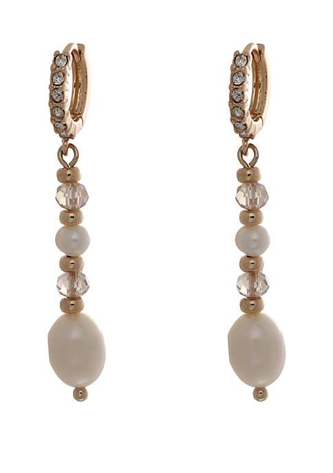 Kaari Blue™ Pearl Drop Earrings