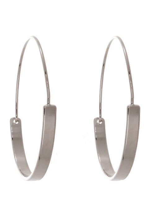 Kaari Blue™ Shiny Hoop Earrings