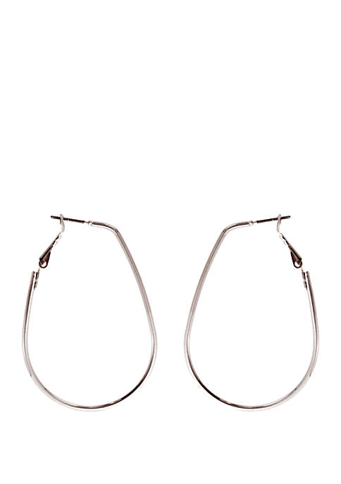 Kaari Blue™ Silver Hoop Earrings