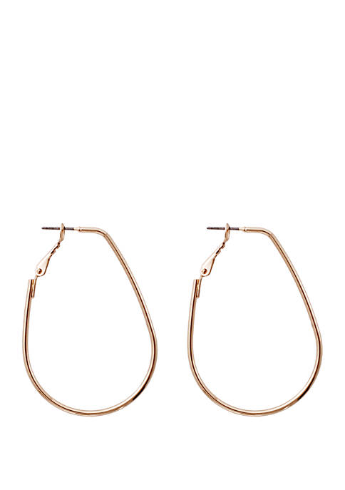 Kaari Blue™ Silver Hoop Earrings