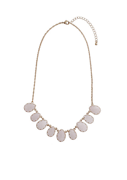 Kaari Blue™ Gold-Tone Semi Precious Necklace