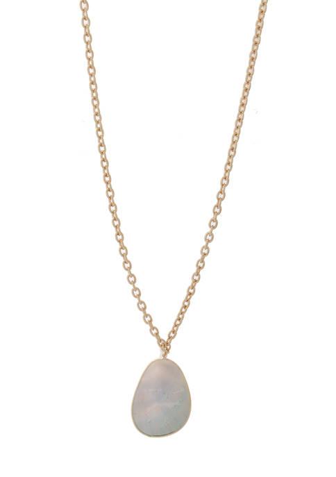 Kaari Blue™ Black Lip Shell Pendant Necklace