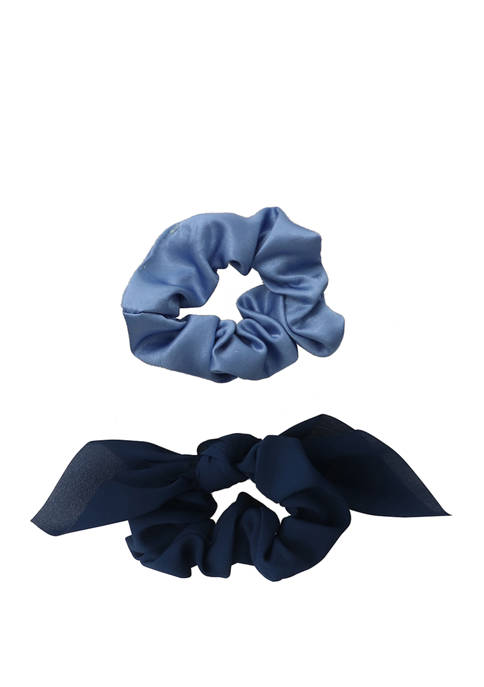 Kaari Blue™ 2 Pack Satin or Velvet Scrunchies