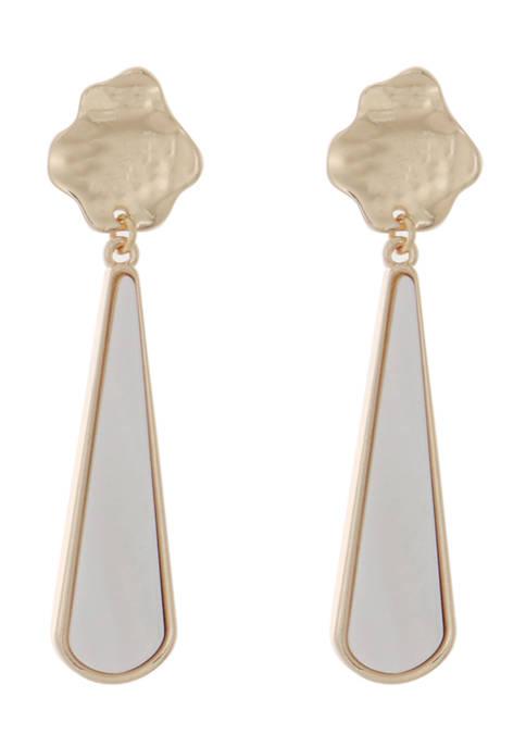 Kaari Blue™ Mother of Pearl Drop Earrings