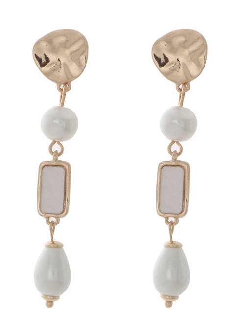 Kaari Blue™ Freshwater Pearl Linear Drop Earrings