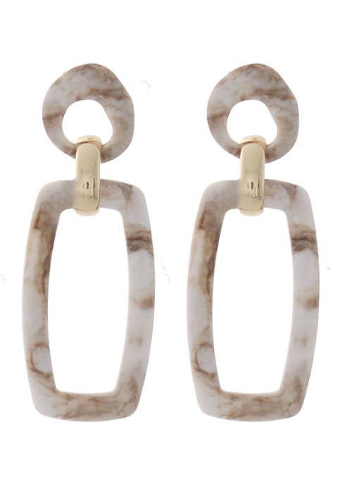Kaari Blue™ Open Lucite Drop Earrings