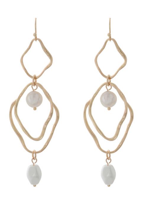 Cultura Pearl Drop Earrings