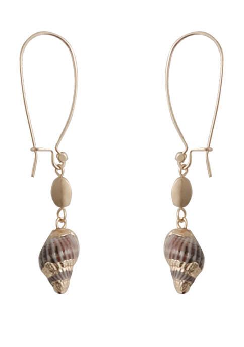 Shell Linear Earrings