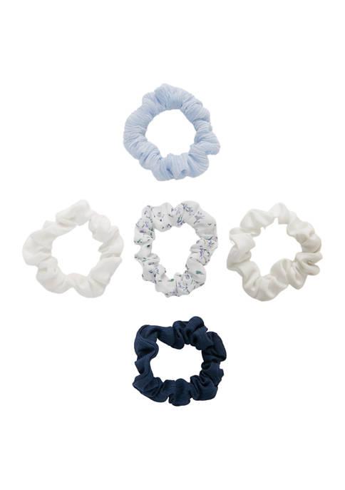 Kaari Blue™ 5 Piece Multi Color Scrunchie Set