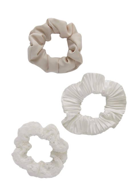 Kaari Blue™ Set of 3 Hair Scrunchies