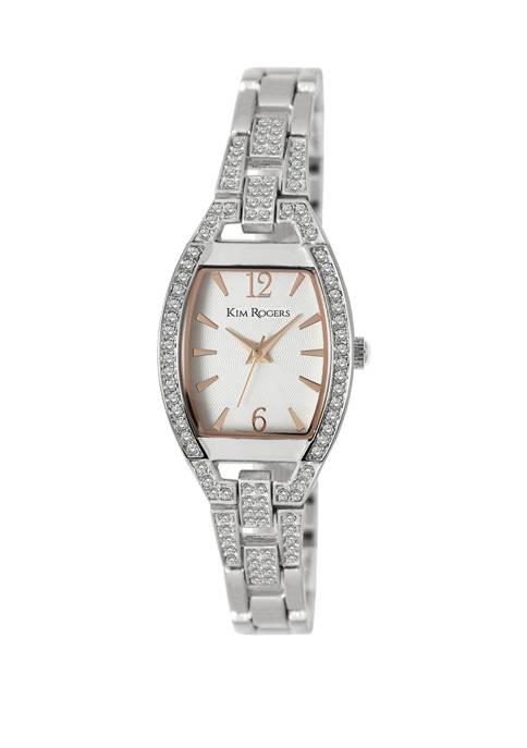 Womens Shaped Open Bracelet Watch