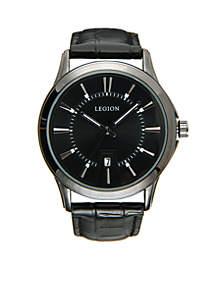 Gunmetal Black Dial Watch