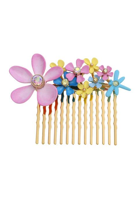 Flower Hair Comb