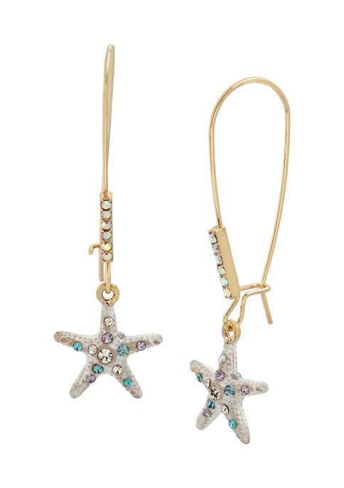 Starfish Dangle Earrings