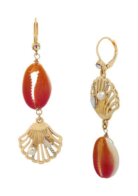 Puka Shell Mismatch Earrings