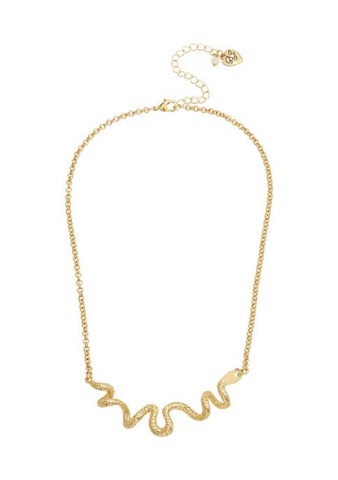 Snake Bar Necklace