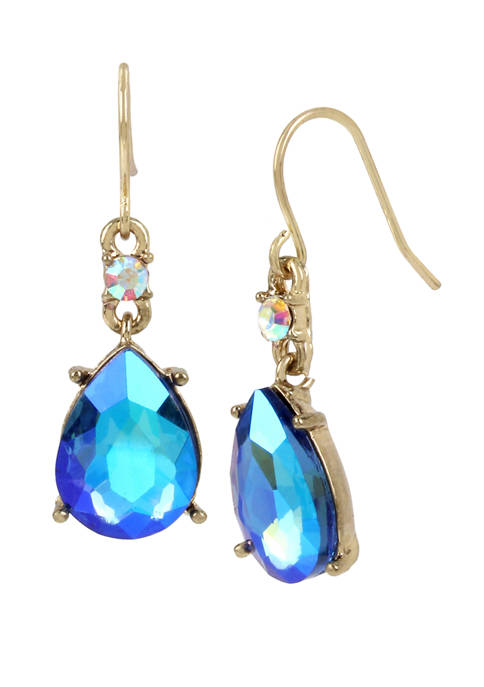 Betsey Johnson Stone Drop Earrings