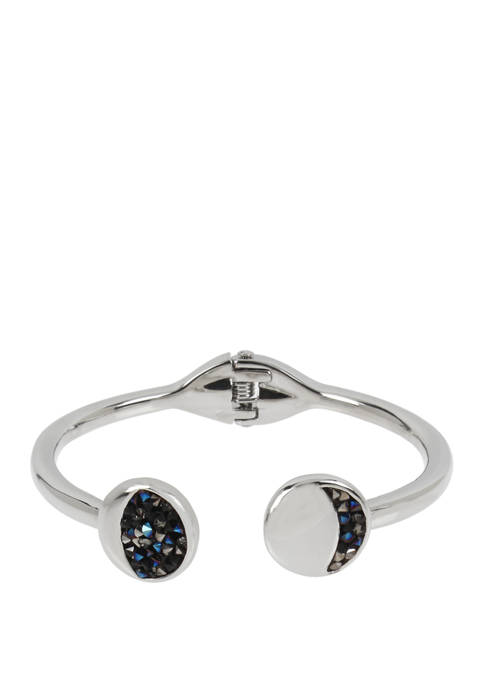 Kenneth Cole Moon Hinged Bracelet