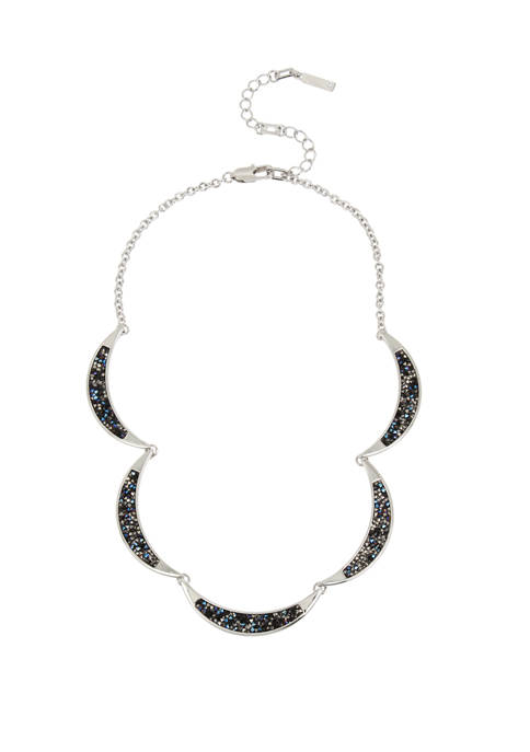 Kenneth Cole Sprinkle Stone Collar Necklace
