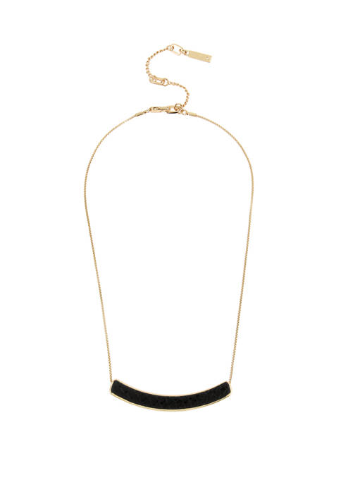 Bar Frontal Delicate Necklace