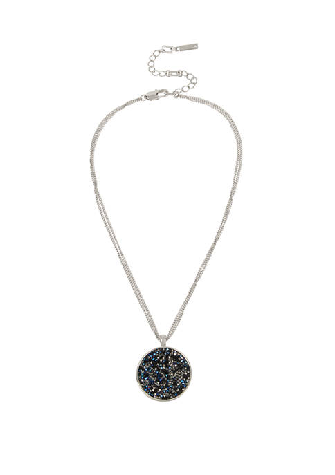Sprinkle Stone Pendant Necklace