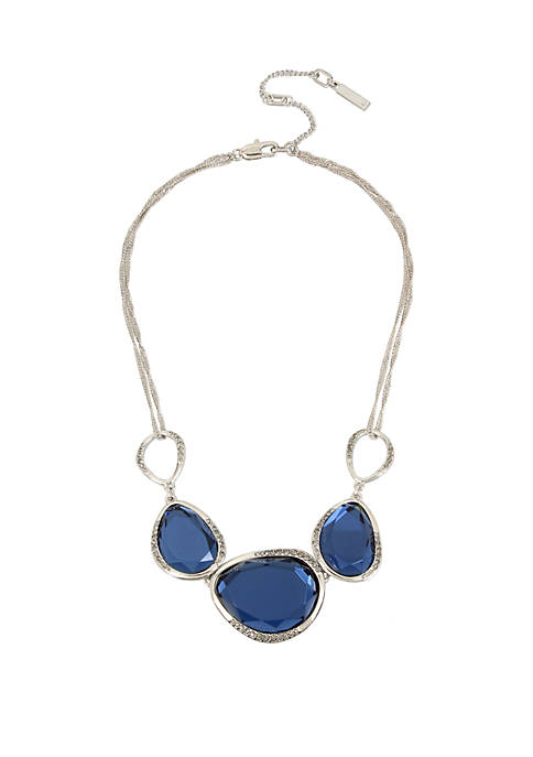 Kenneth Cole Stone Frontal Necklace