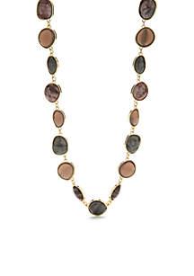 Gold-Tone Shaky Necklace