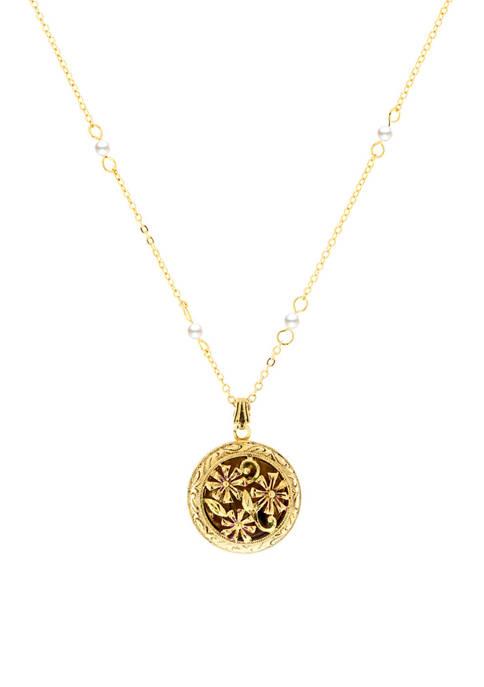 1928 Jewelry 18 Inch 14 Karat Gold Dipped