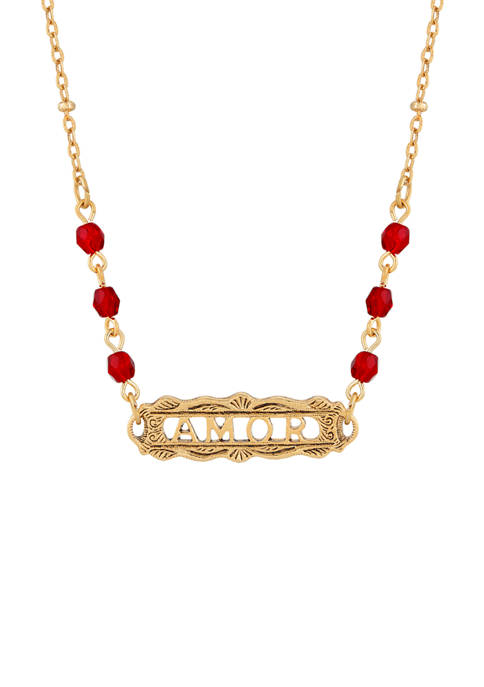 1928 Jewelry 16 Inch Adjustable 14K Gold Dipped