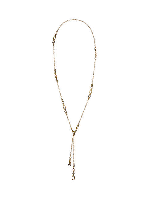 Laundry by Shelli Segal Gold Tone Chain and