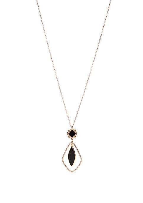 Quatrefoil Pendant Necklace