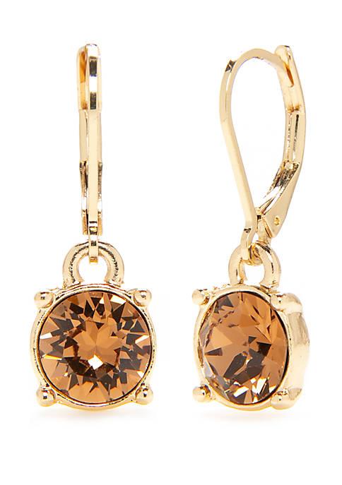 Lever Back Swarovski® Drop Earrings