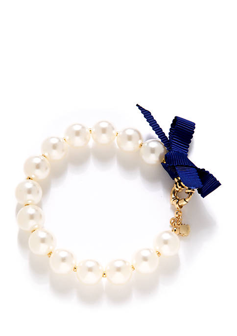 Crown & Ivy™ Boxed Gold Tone Flex Bracelet