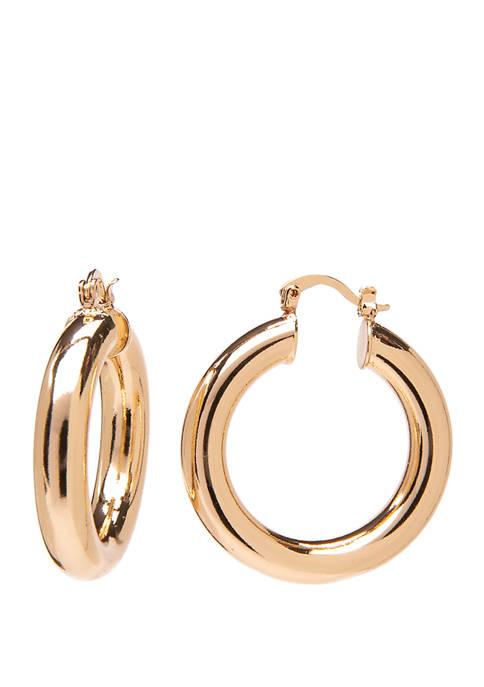 Crown & Ivy™ Click Top Medium Tubular Gold