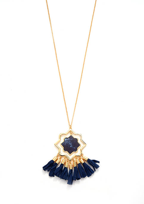 Crown & Ivy™ 36 Inch Gold Tone Necklace