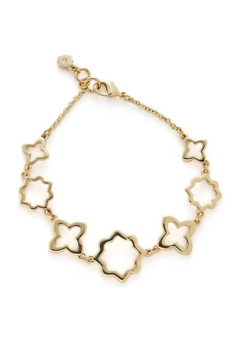 Crown & Ivy™ 7 Inch Open Foil Bracelet