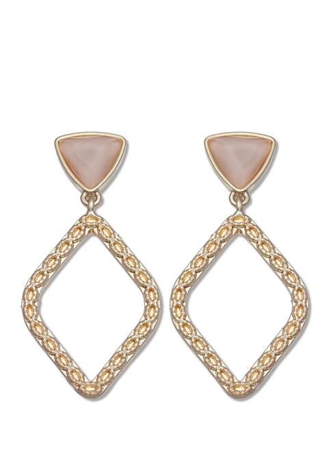 Milli by Jules B Blush Post Back Diamond