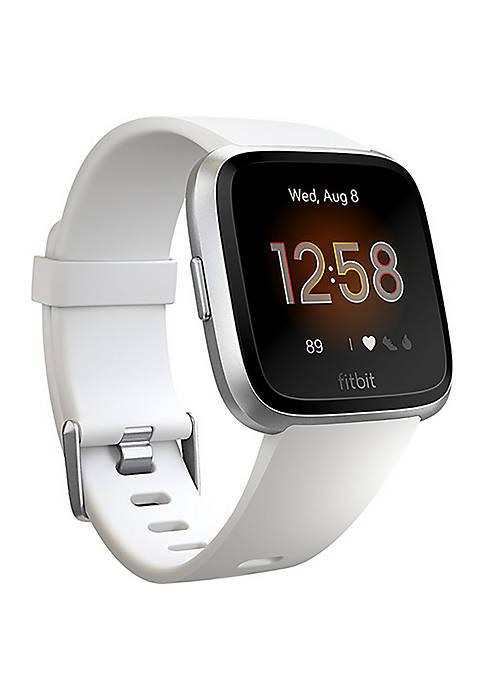 Fitbit® Versa Lite Smartwatch White Silver