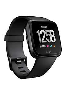 Fitbit® Versa Watch in Black Aluminum