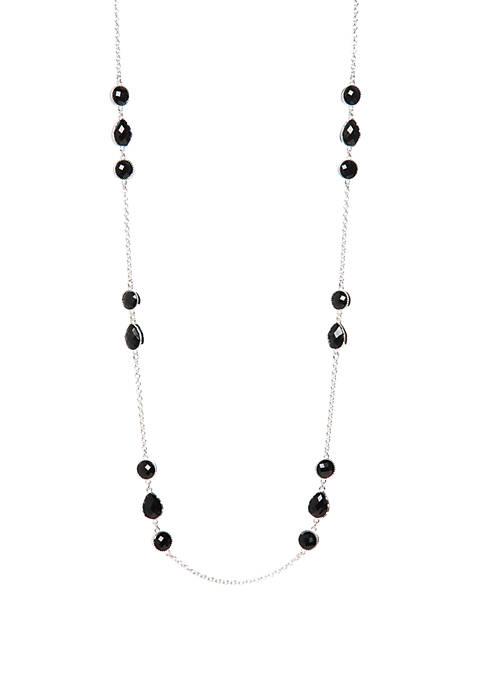 36 Inch Length Station Strand Necklace