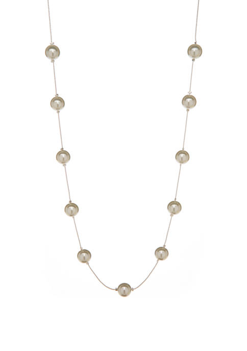 Kim Rogers® 10 Millimeter Pearl Illusion Necklace