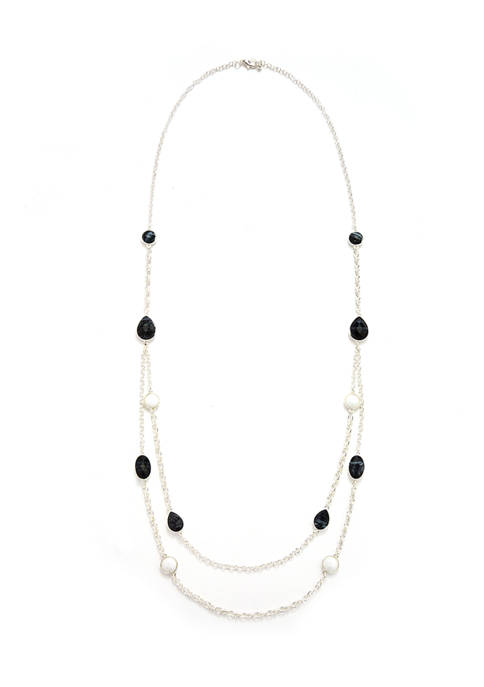 Multi-Row Chain Necklace