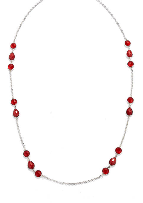 Kim Rogers® 18 in Length Station Strand Necklace