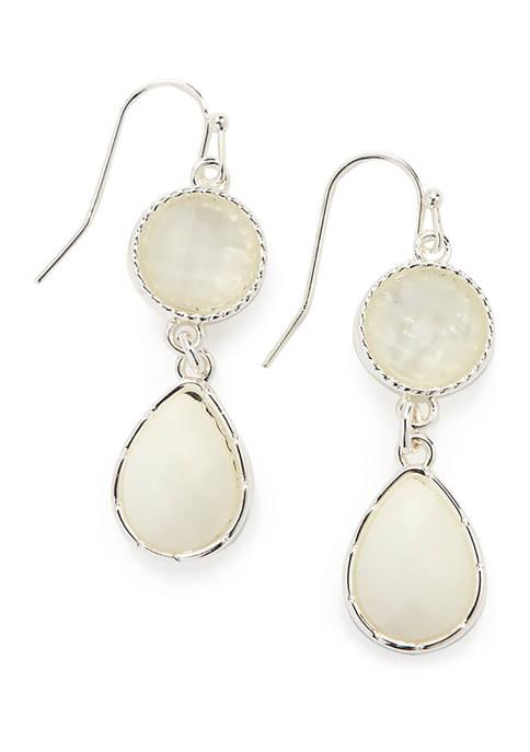 Kim Rogers® Double Drop Earrings