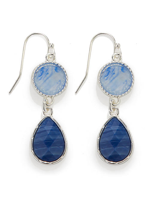 Kim Rogers® Double Drop Earrings