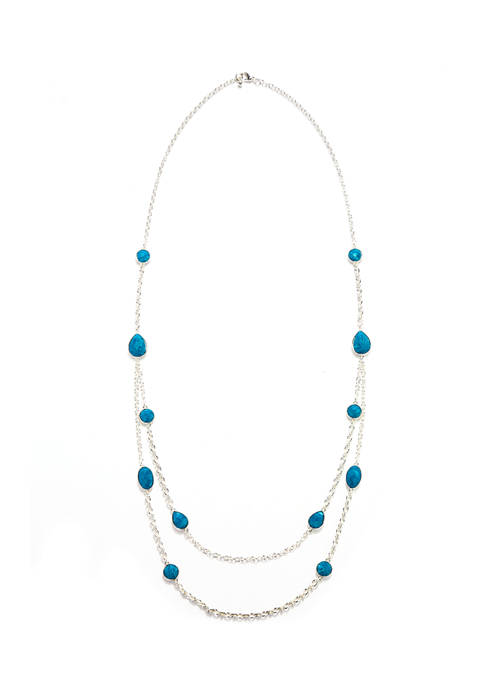 Kim Rogers® 18 Inch Multi Row Necklace