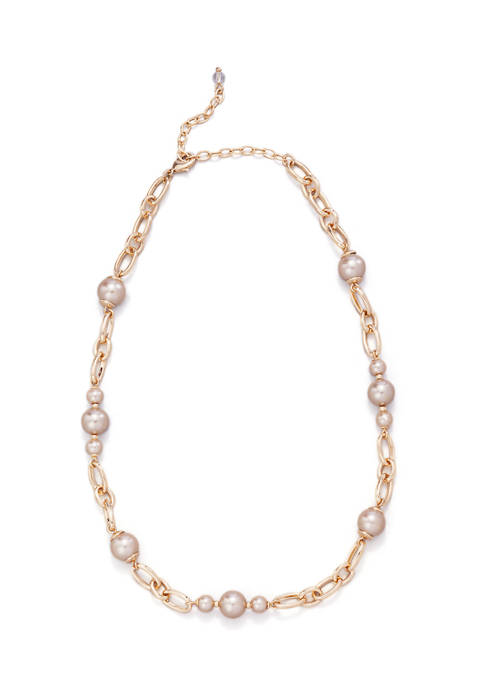 Kim Rogers® Pearl Frontal Necklace