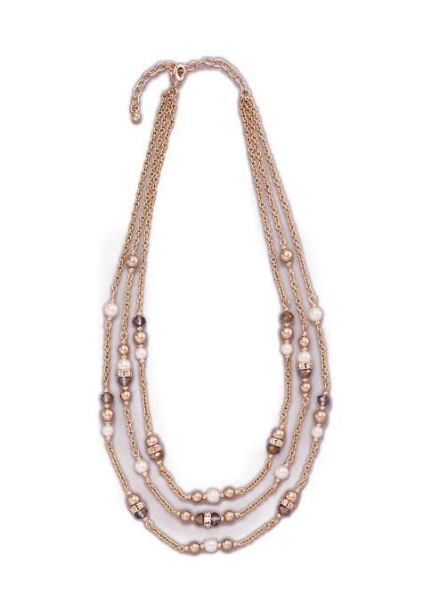 Kim Rogers® Gold Tone 16 Inch Pearl and