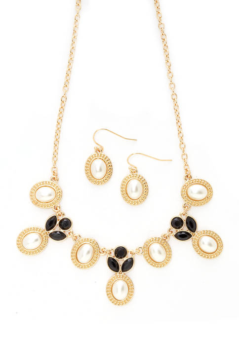 Kim Rogers® 2 Piece 16 Inch Necklace and
